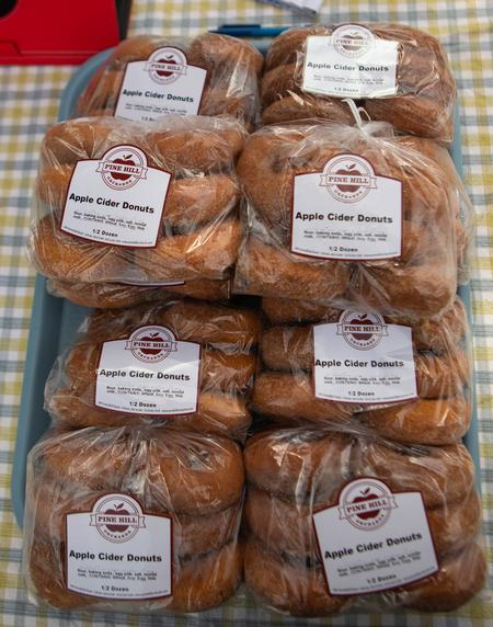 A Bagg of Pine Hill Orchards Cider Donuts